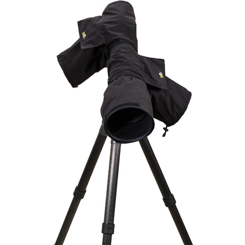 LensCoat RainCoat 2 Pro Camera Cover (Black)