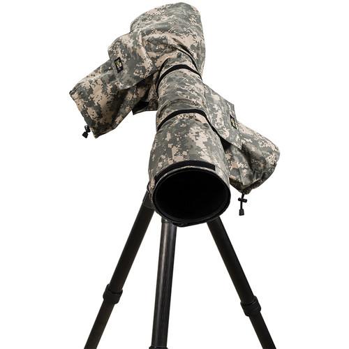 LensCoat RainCoat 2 Pro Camera Cover (Digital Camo)
