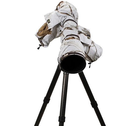 LensCoat RainCoat 2 Pro Camera Cover (Realtree AP Snow)