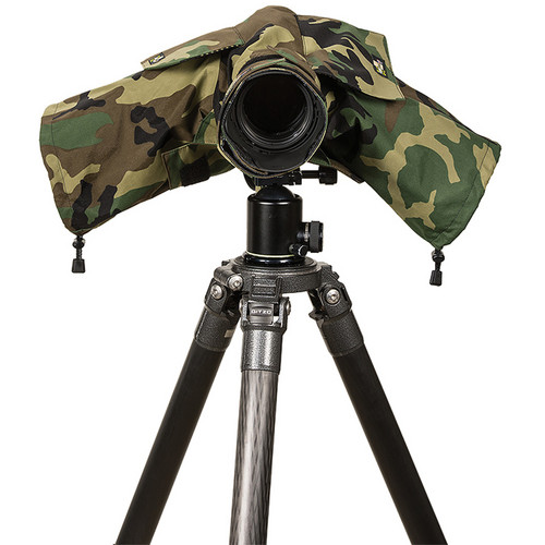 LensCoat RainCoat 2 Standard Camera Cover (Forest Green Camo)