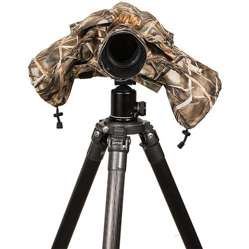 LensCoat RainCoat 2 Standard Camera Cover (Realtree Max-4)