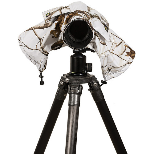LensCoat RainCoat 2 Standard Camera Cover (Realtree AP Snow)