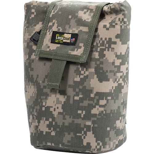 LensCoat Roll up MOLLE Pouch Large (Digital Camo)