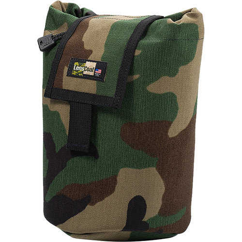 LensCoat Roll up MOLLE Pouch Large (Forest Green Camo)