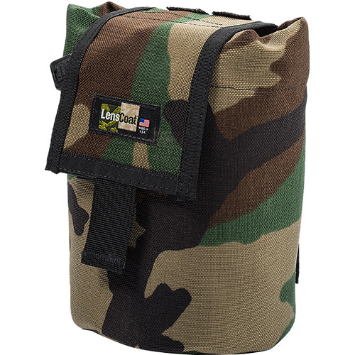 LensCoat Roll up MOLLE Pouch Medium (Forest Green Camo)
