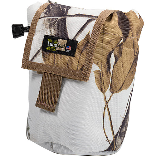 LensCoat Roll up MOLLE Pouch Medium (Realtree AP Snow)
