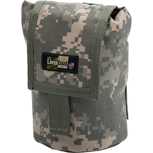 LensCoat Roll up MOLLE Pouch Small (Digital Camo)