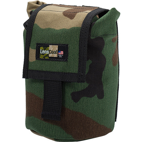 LensCoat Roll up MOLLE Pouch Small (Forest Green Camo)