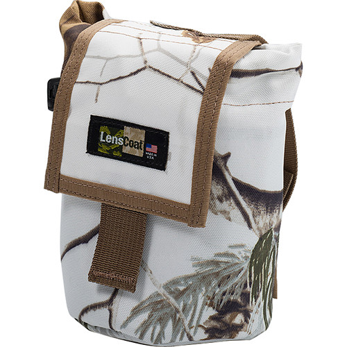 LensCoat Roll up MOLLE Pouch Small (Realtree AP Snow)