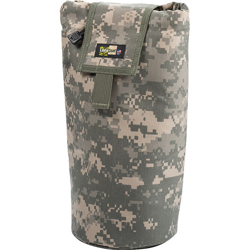 LensCoat Roll up MOLLE Pouch Extra Large (Digital Camo)