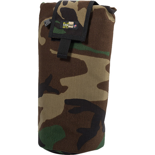 LensCoat Roll up MOLLE Pouch Extra Large (Forest Green Camo)