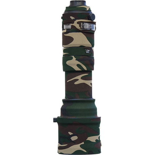 LensCoat Lens Cover for Sigma 150-600mm f/5-6.3 DG OS HSM Sports Lens (Forest Green Camo)