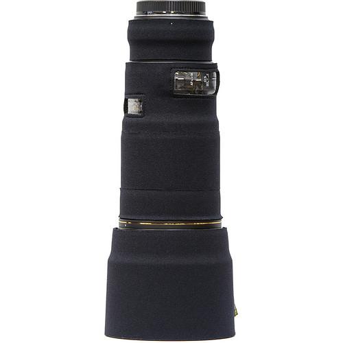 LensCoat Telephoto Lens Cover for Sigma 180mm Macro f/2.8 EX DG OS HSM Lens (Black)