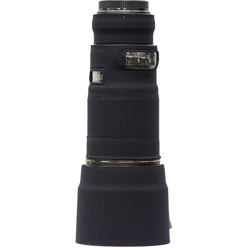 LensCoat Telephoto Lens Cover for Sigma 180mm Macro f/2.8 EX DG OS HSM (Black)