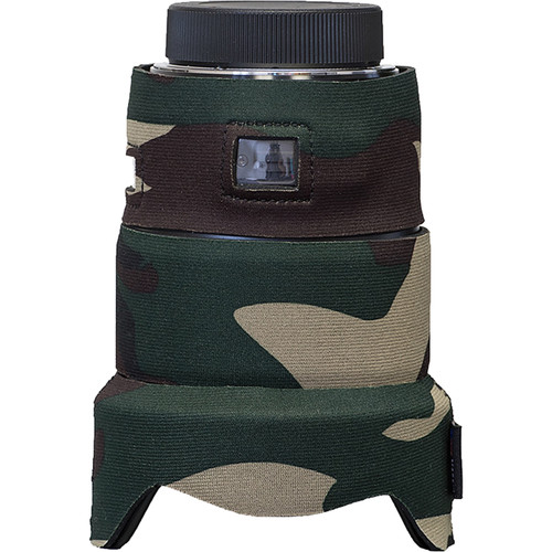LensCoat Lens Cover for the Sigma 20mm f/1.4 DG HSM Art Lens (forest green camo)