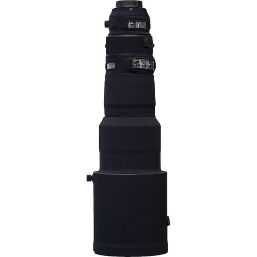 LensCoat Lens Cover For the Sigma 500mm f/4 DG OS HSM Sports Lens (Black)