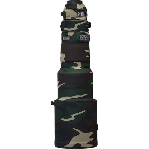 LensCoat Lens Cover For the Sigma 500mm f/4 DG OS HSM Sports Lens (Forest Green Camo)