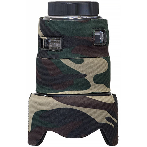 LensCoat Telephoto Lens Cover for Sigma 50mm F1.4 DG HSM Art (Forest Green Camo)