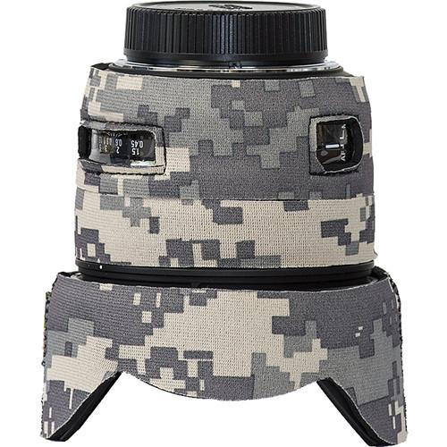 LensCoat Lens Cover for Sigma 50mm f/1.4 DG HSM Lens (Digital Camo)