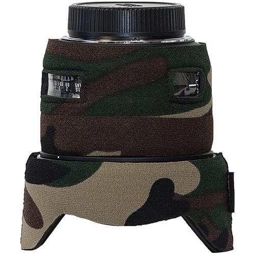 LensCoat Lens Cover for Sigma 50mm f/1.4 DG HSM Lens (Forest Green Camo)