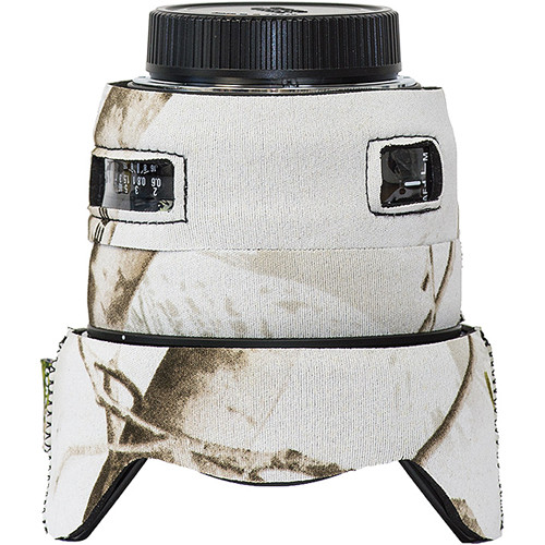 LensCoat Lens Cover for Sigma 50mm f/1.4 DG HSM Lens (Realtree AP Snow)