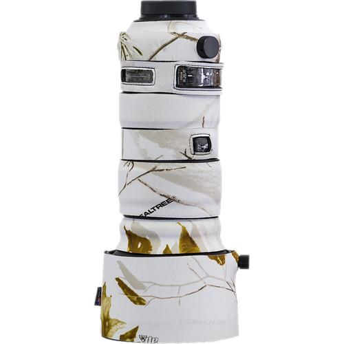 LensCoat Lens Cover for Sigma 60-600mm f/4.5-6.3 DG OS HSM Sports Lens (Realtree AP Snow)