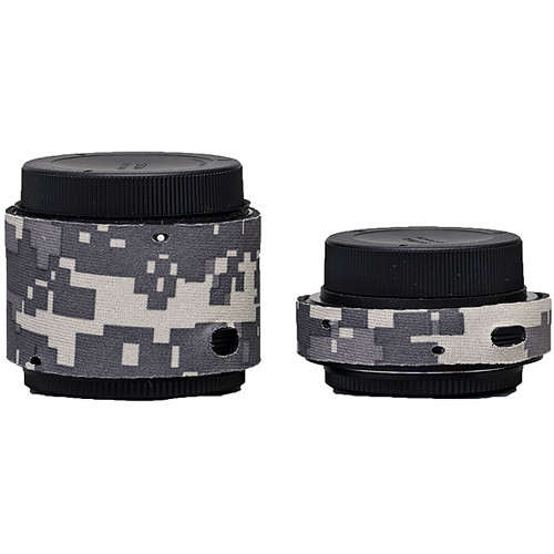 LensCoat Lens Covers for the Sigma Teleconverter Set (Digital Camo)