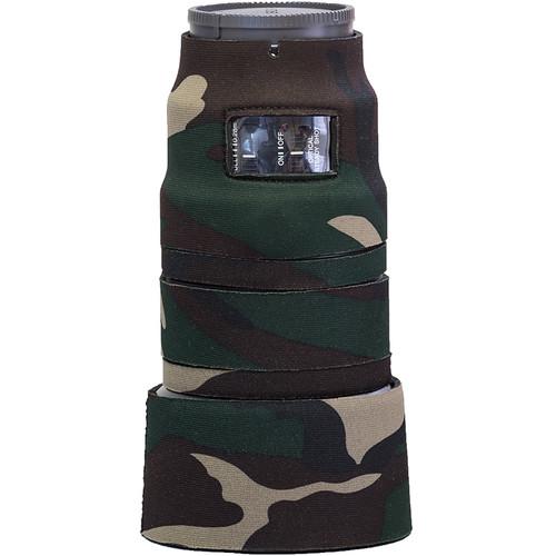 LensCoat Lens Cover for Sony FE 90mm f/2.8 Macro G OSS Lens (Forest Green Camo)
