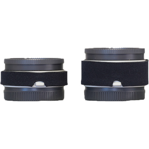 LensCoat Lens Cover Set for Sony FE 1.4x and 2.x Teleconverters (Black)