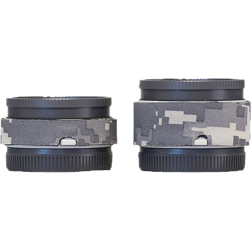 LensCoat Lens Cover Set for Sony FE 1.4x and 2.x Teleconverters (Digital Camo)