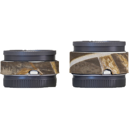 LensCoat Lens Cover Set for Sony FE 1.4x and 2.x Teleconverters (Realtree Max4)