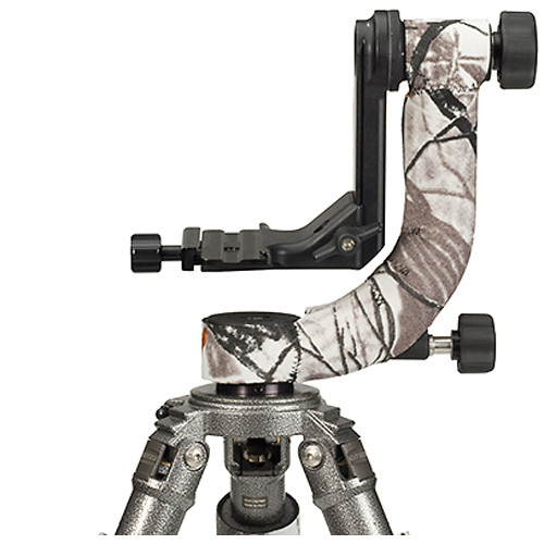 LensCoat Neoprene Cover for Sirui PH-20 Gimbal Head (Realtree AP Snow)