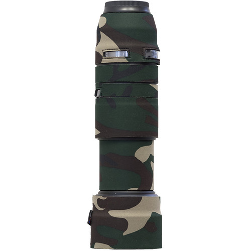 LensCoat Lens Cover for the Tamron 100-400mm f/4.5-6.3 DI VC (Forest Green Camo)