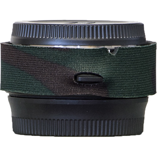 LensCoat Lens Cover for Tamron 1.4x Teleconverter (Forest Green Camo)