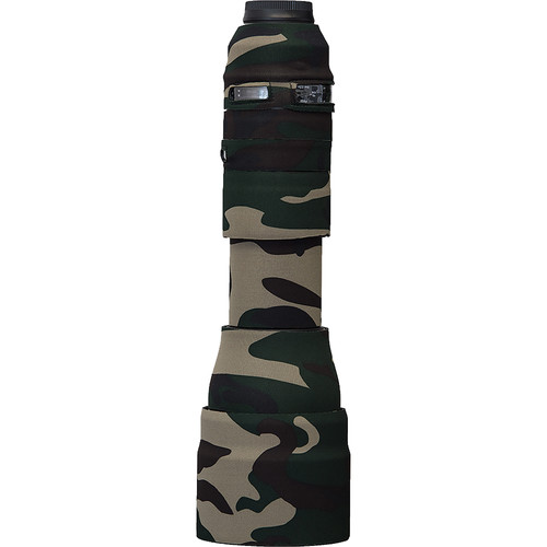 LensCoat Lens Cover for Tamron SP 150-600mm f/5-6.3 Di VC G2 Lens (Forest Green Camo)