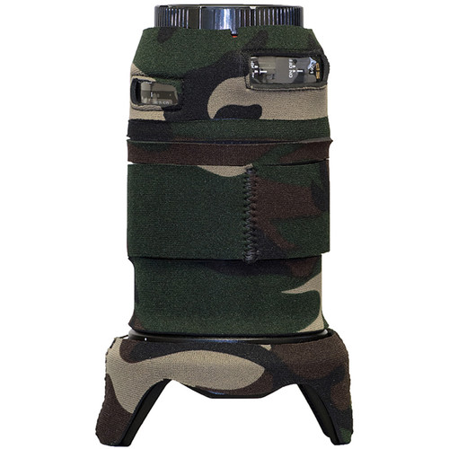 LensCoat Lens Cover for Tamron SP 24-70mm f/2.8 Di VC Lens (Forest Green Camo)