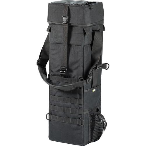 LensCoat Xpandable 3X Long Lens Bag (Black)