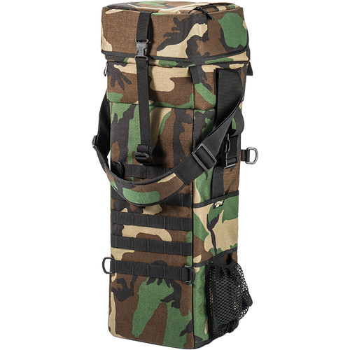 LensCoat Xpandable 4X Long Lens Bag (Forest Green Camo)