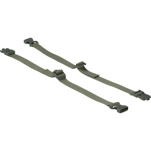 LensCoat Securing Straps for Xpandable Series Long Lens Bag - Set of 2 (Foliage Green)