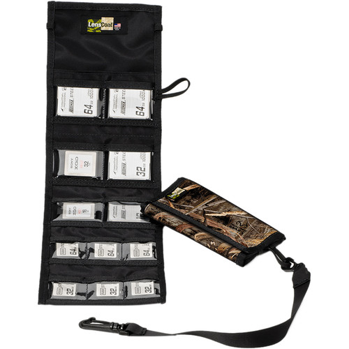 LensCoat Memory Card Wallet Combo 66 (Realtree MAX-5)