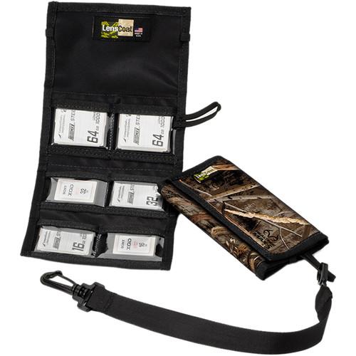 LensCoat Memory Card Wallet CF6 (Realtree MAX-5)