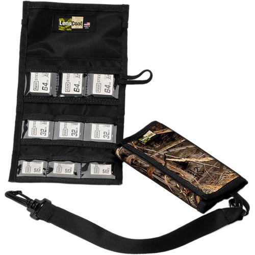 LensCoat Memory Card Wallet SD9 (Realtree MAX-5)