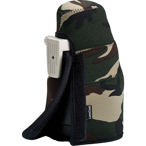 LensCoat TravelCoat for Select Canon Lenses (Forest Green)