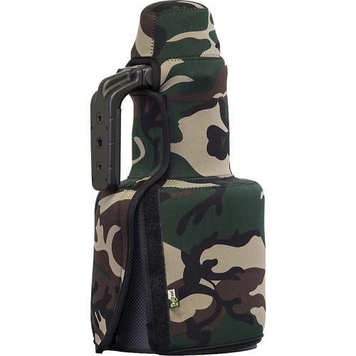 LensCoat TravelCoat for Nikon 400mm f/2.8E FL ED VR Lens with Lens Hood (Forest Green Camo)
