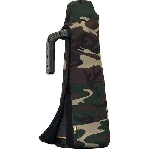 LensCoat TravelCoat for Nikon 600mm f/4E FL ED VR Lens (without Hood, Forest Green Camo)