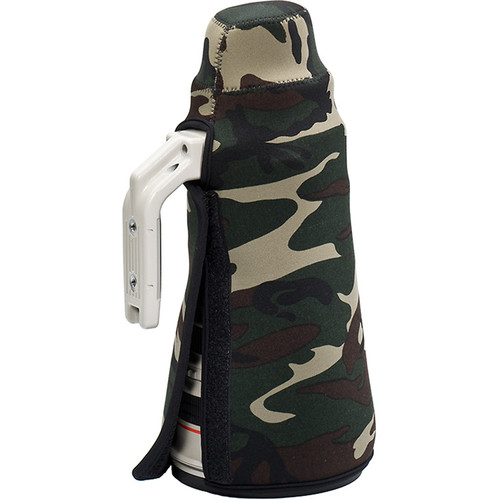 LensCoat TravelCoat for Sony FE 400mm f/2.8 GM OSS Lens without Hood (Forest Green Camo)