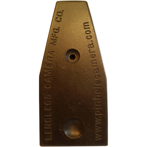 Lensless Replacement Manual Leaf Shutter for Lensless Pinhole Cameras