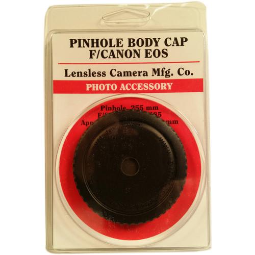 Lensless Pinhole Body Cap for Canon EF