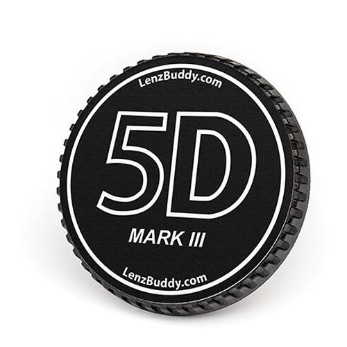 LenzBuddy Body Cap for Canon EF Mount Cameras (5D Mark III, Black/White)