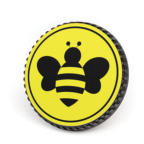 LenzBuddy Body Cap for Canon EF Mount Cameras (Bumblebee, Yellow)
